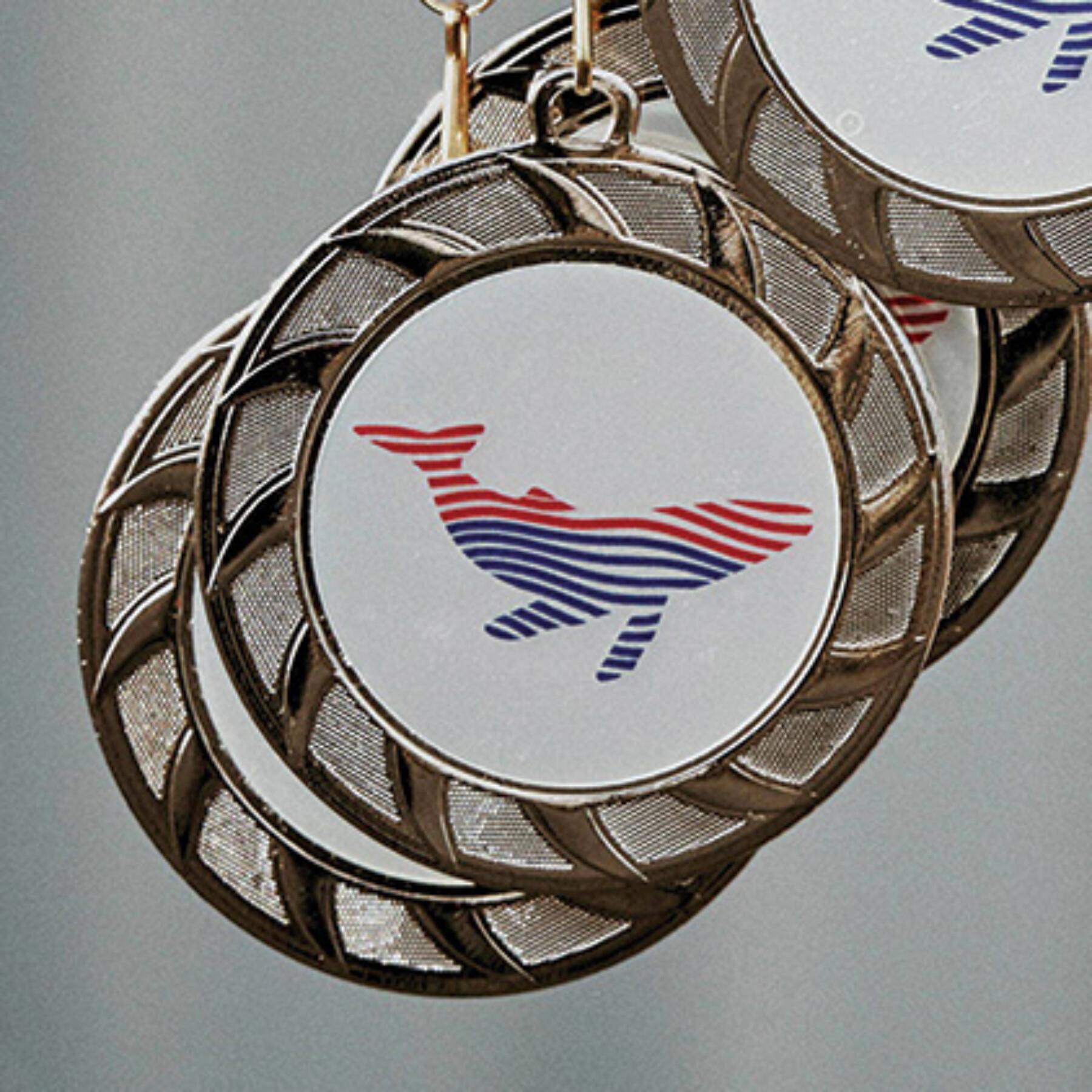 medailles voor de Whale Run