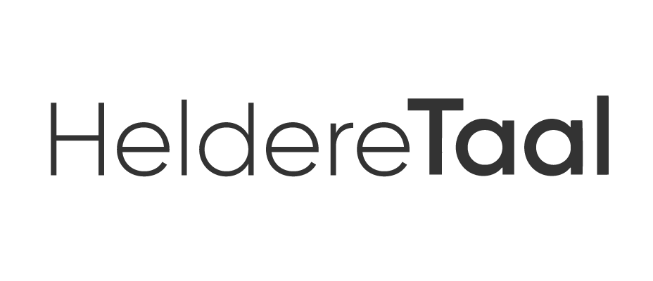 Heldere Taal logo